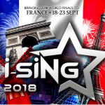 i-SiNG World Participating Countries Doubled this Year with More Than 60 Country Champions Competing in France 2018!