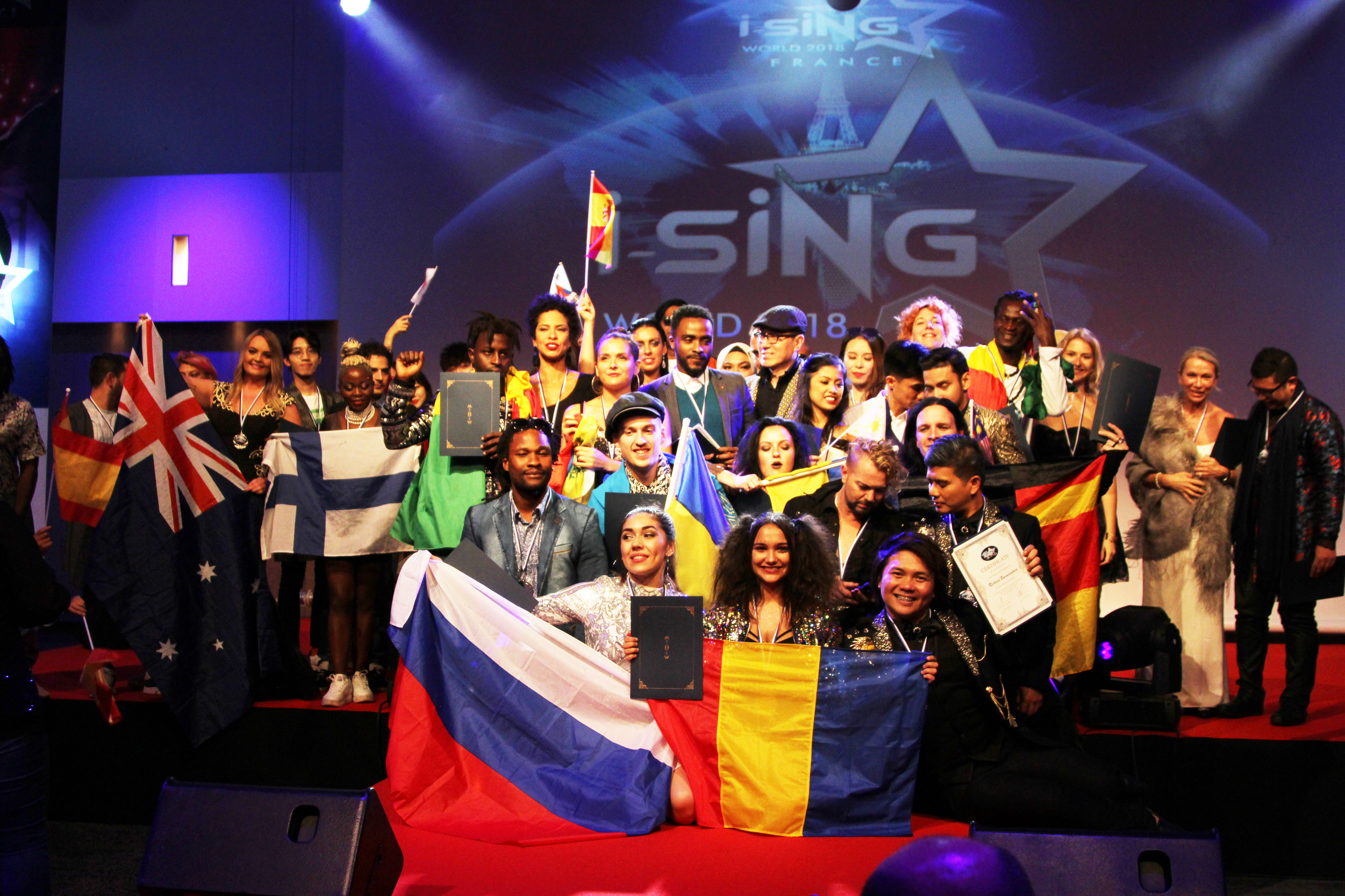 i-SiNG World – The biggest Singing Competition